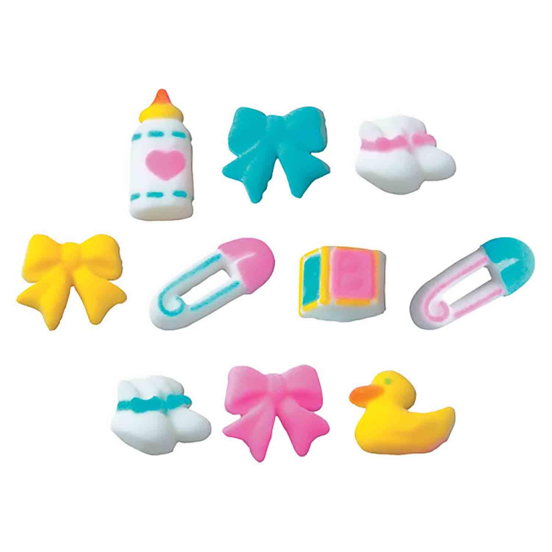 Dec-Ons® Molded Sugar - Deluxe Baby Assortment