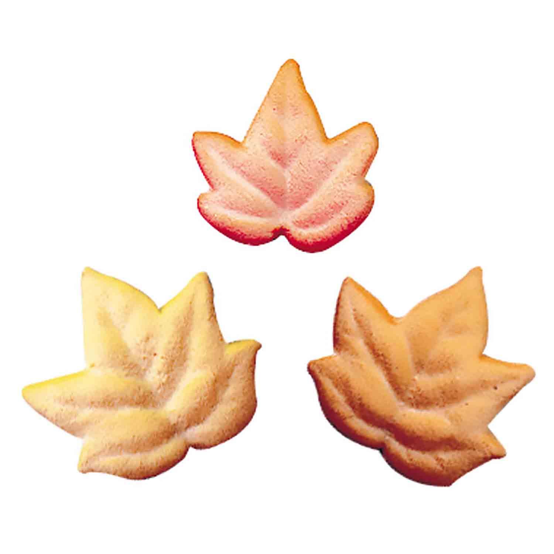 Dec-Ons® Molded Sugar - Fall Leaves