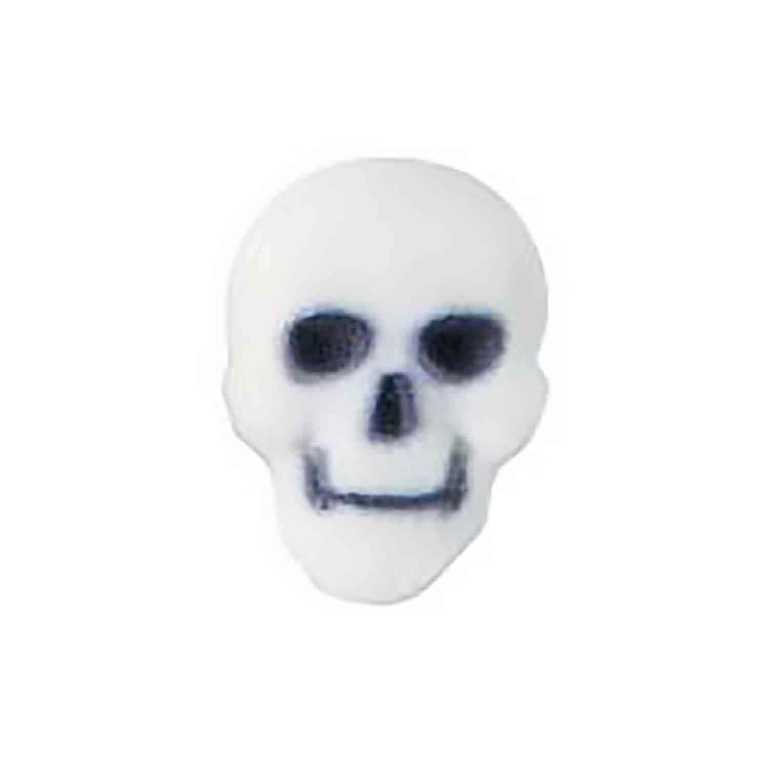 Dec-Ons® Molded Sugar -  White Skulls