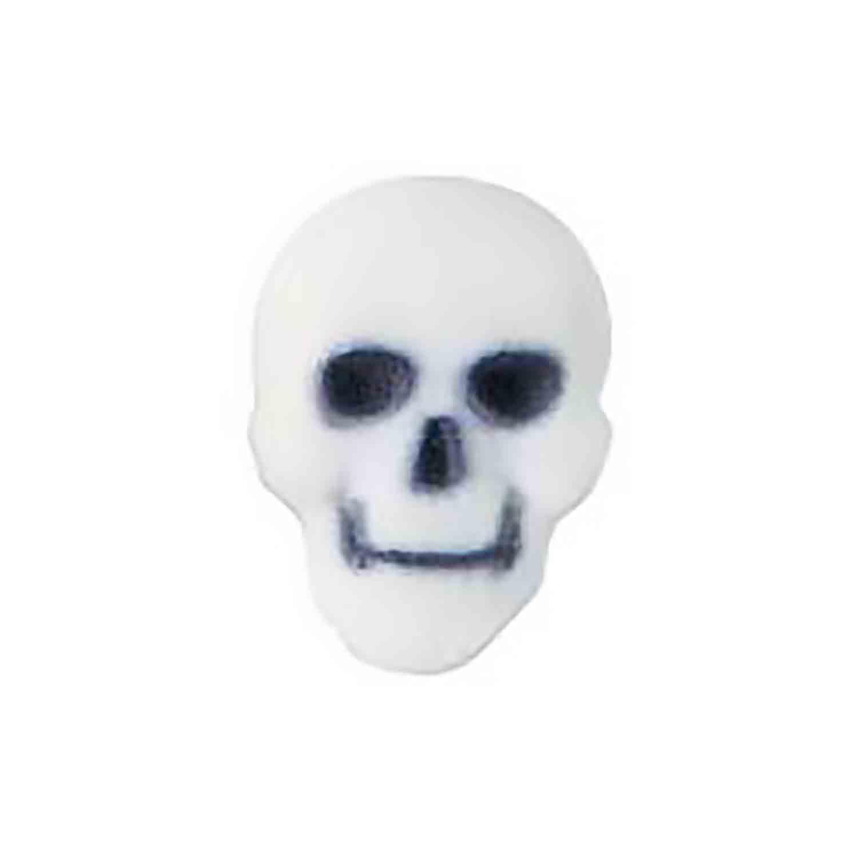 Dec-Ons® Molded Sugar -  White Skulls