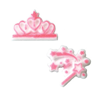 Dec-Ons® Molded Sugar - Pretty Princess