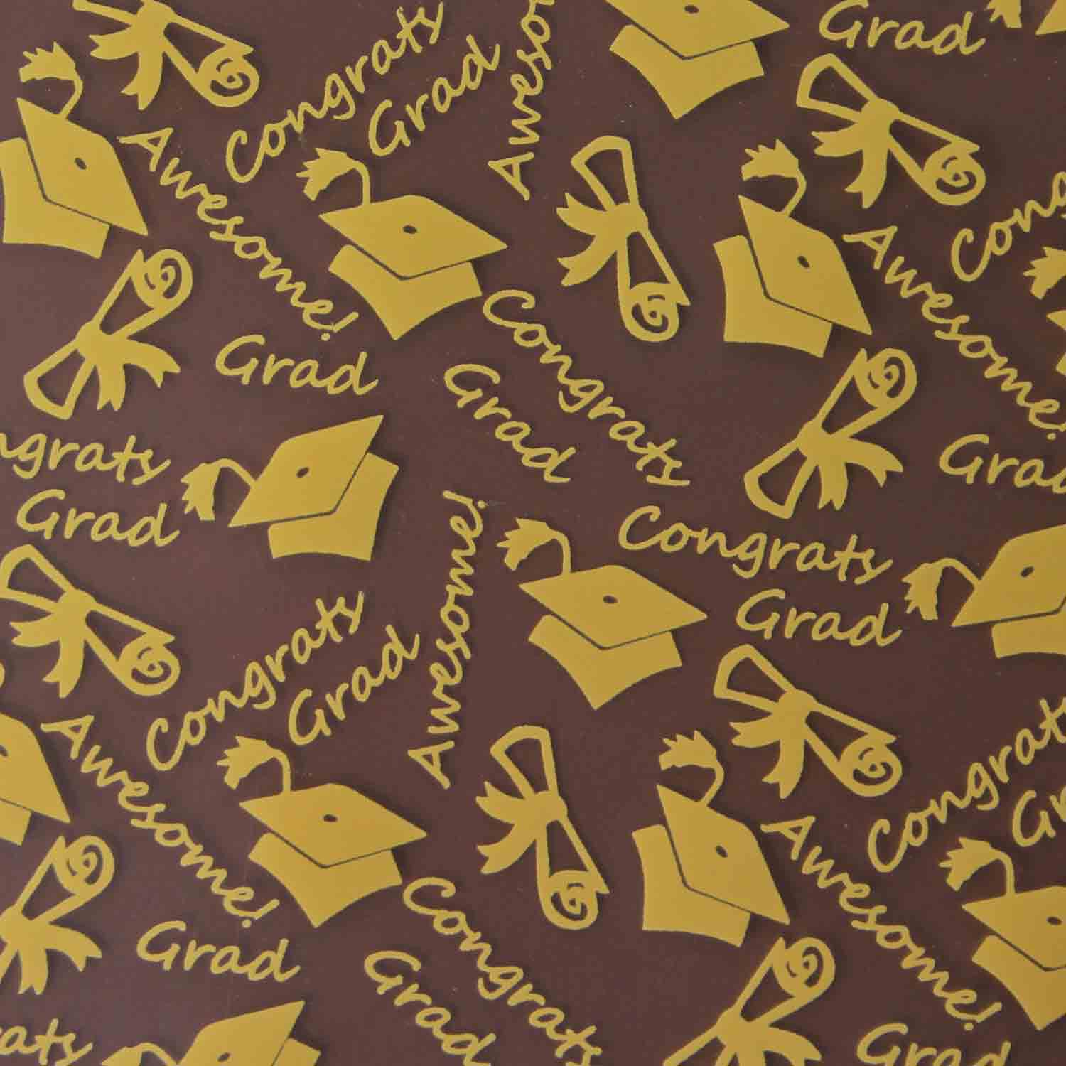 Chocolate Transfer Sheet- Congratulations Graduate