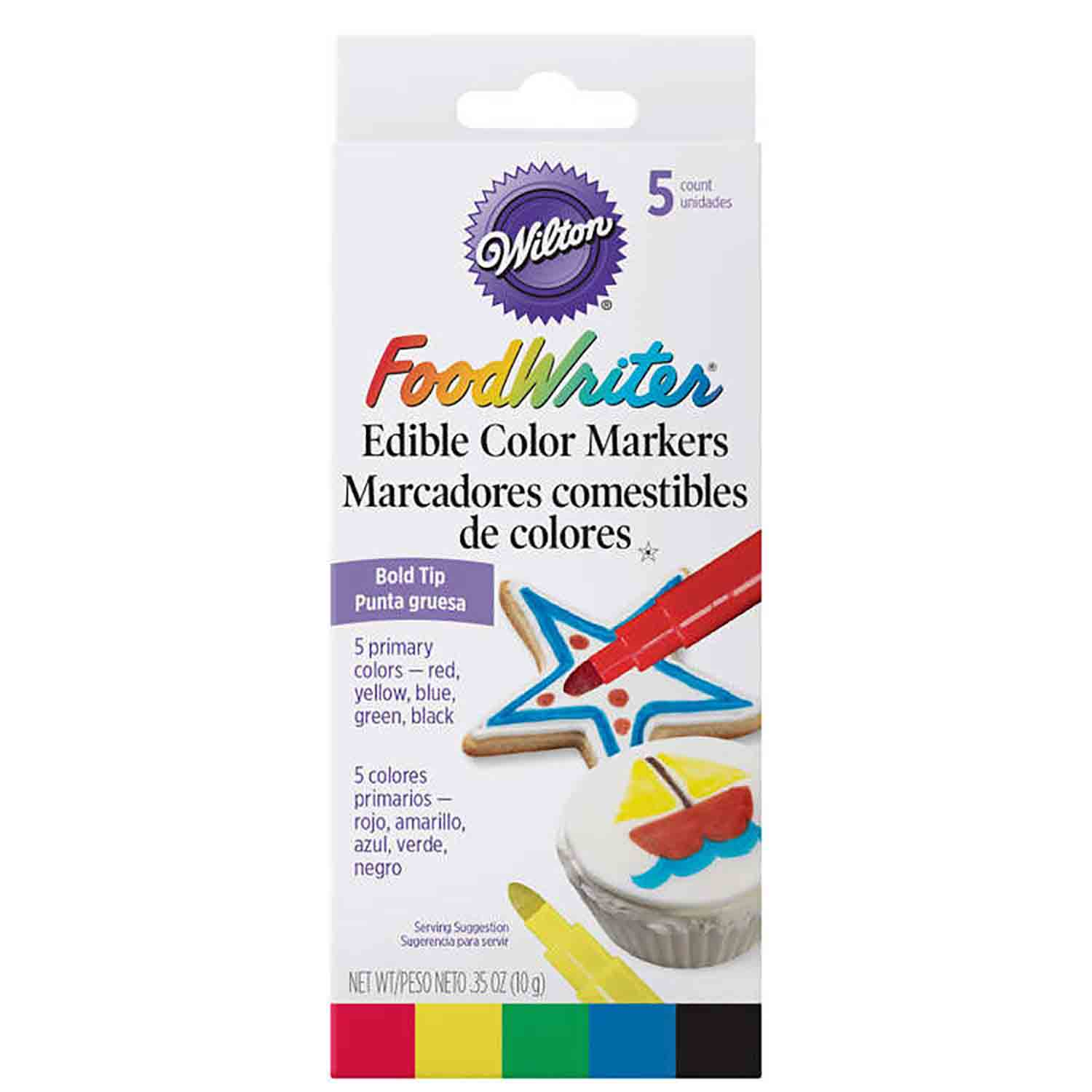 Assorted Bold Tip Foodwriter Markers