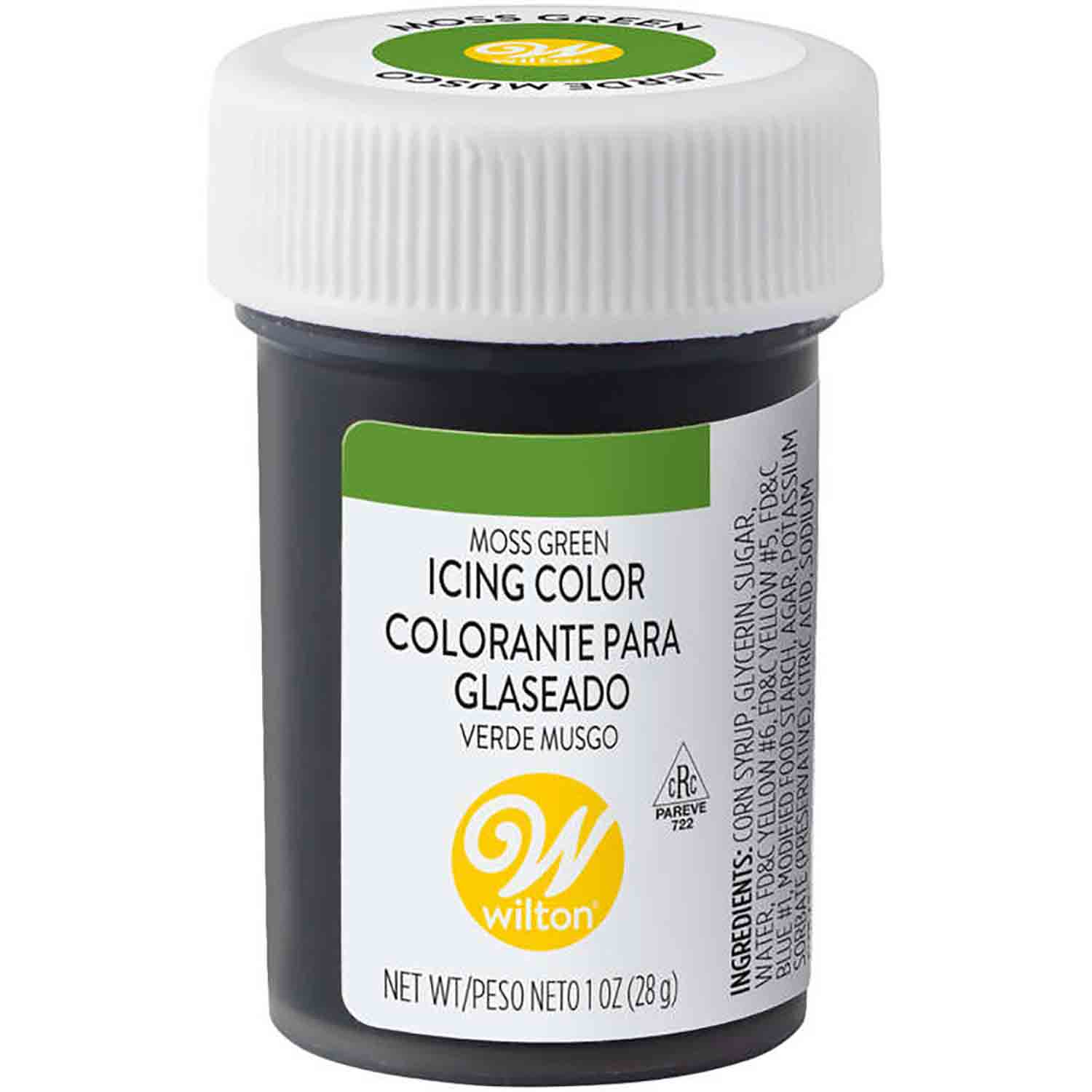 Moss Green Wilton Paste Food Color