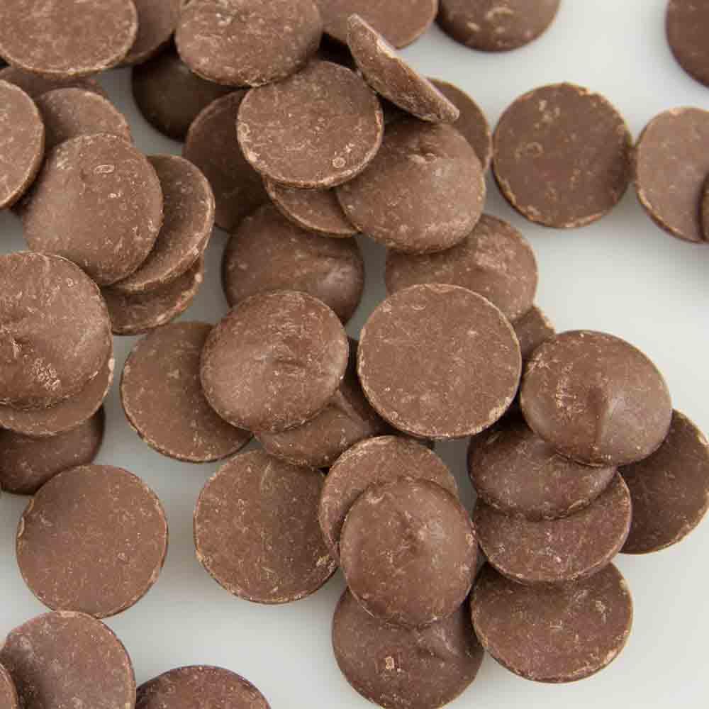 Merckens Cocoa Lite Milk Chocolate Flavored Candy Coating