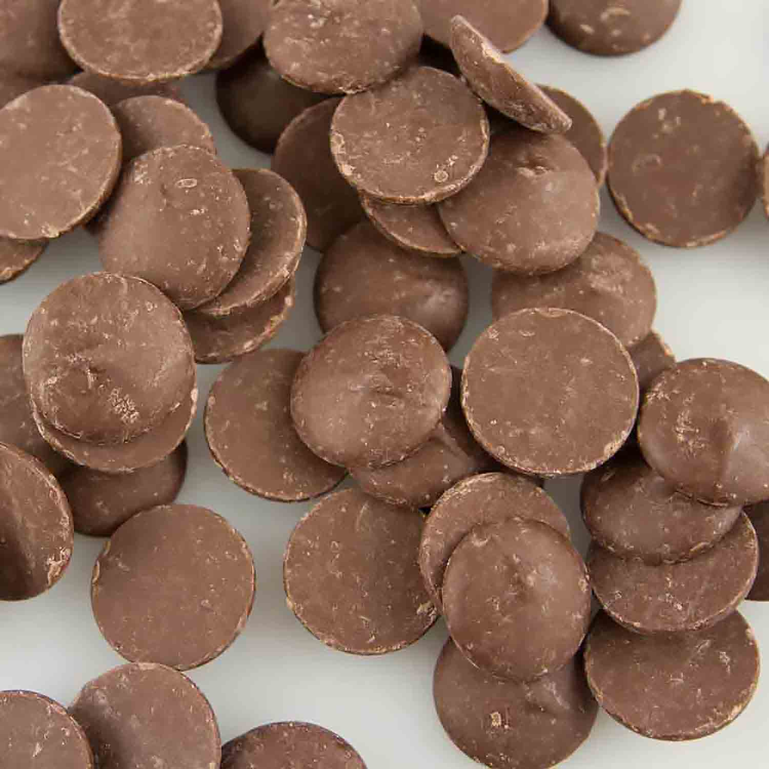 Merckens Real Marquis Milk Chocolate Buttons