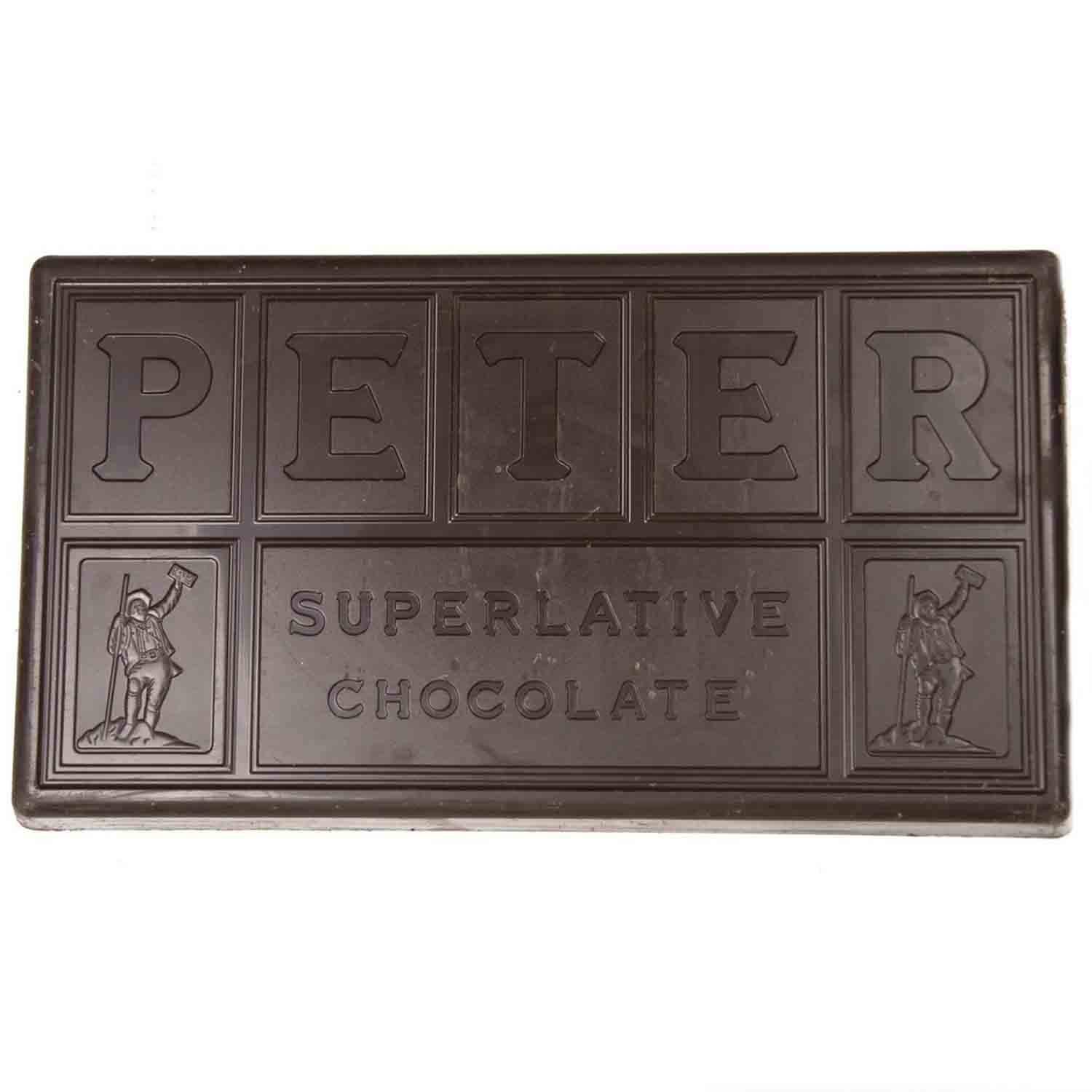 Peter's Burgundy Real Dark Chocolate (Semi-sweet)
