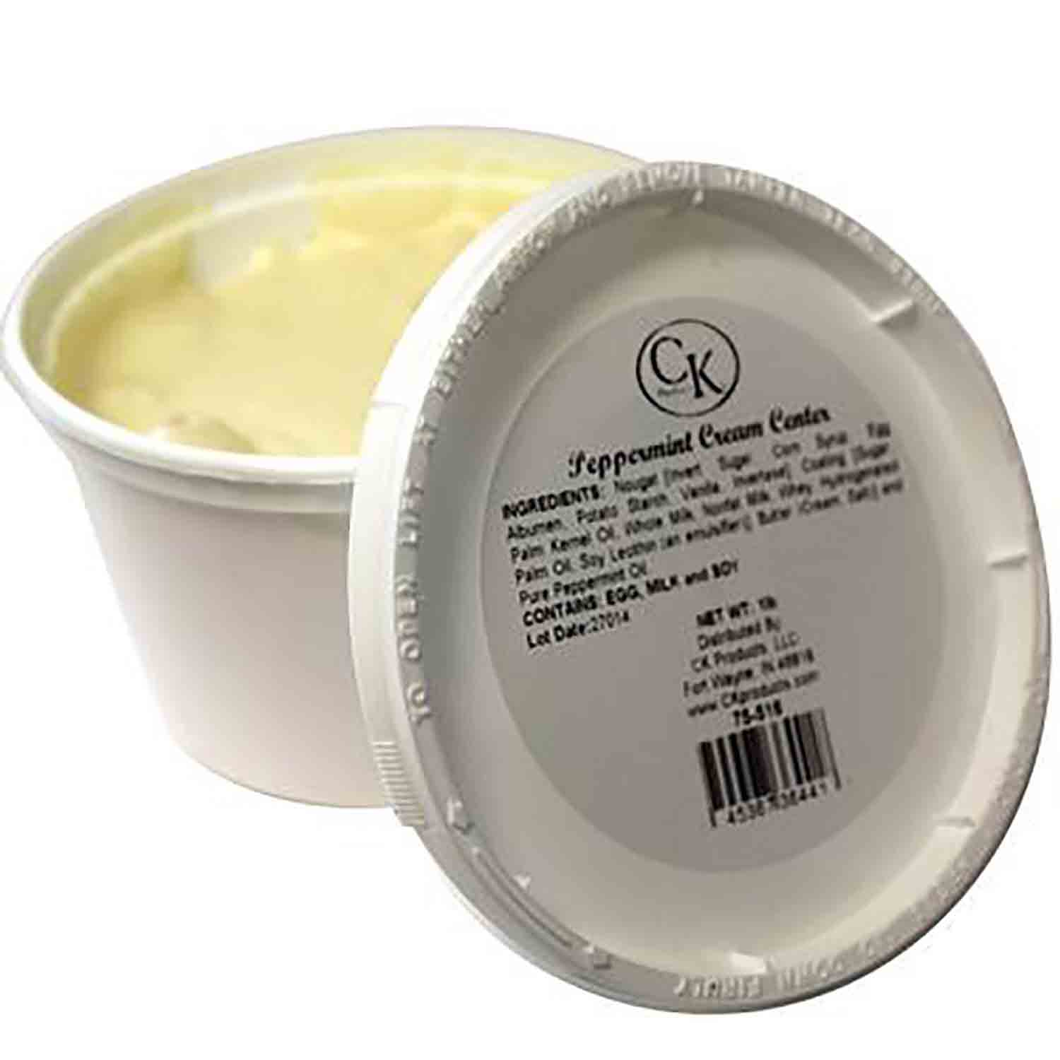 Peppermint Cream Center by CK Products/Burkes