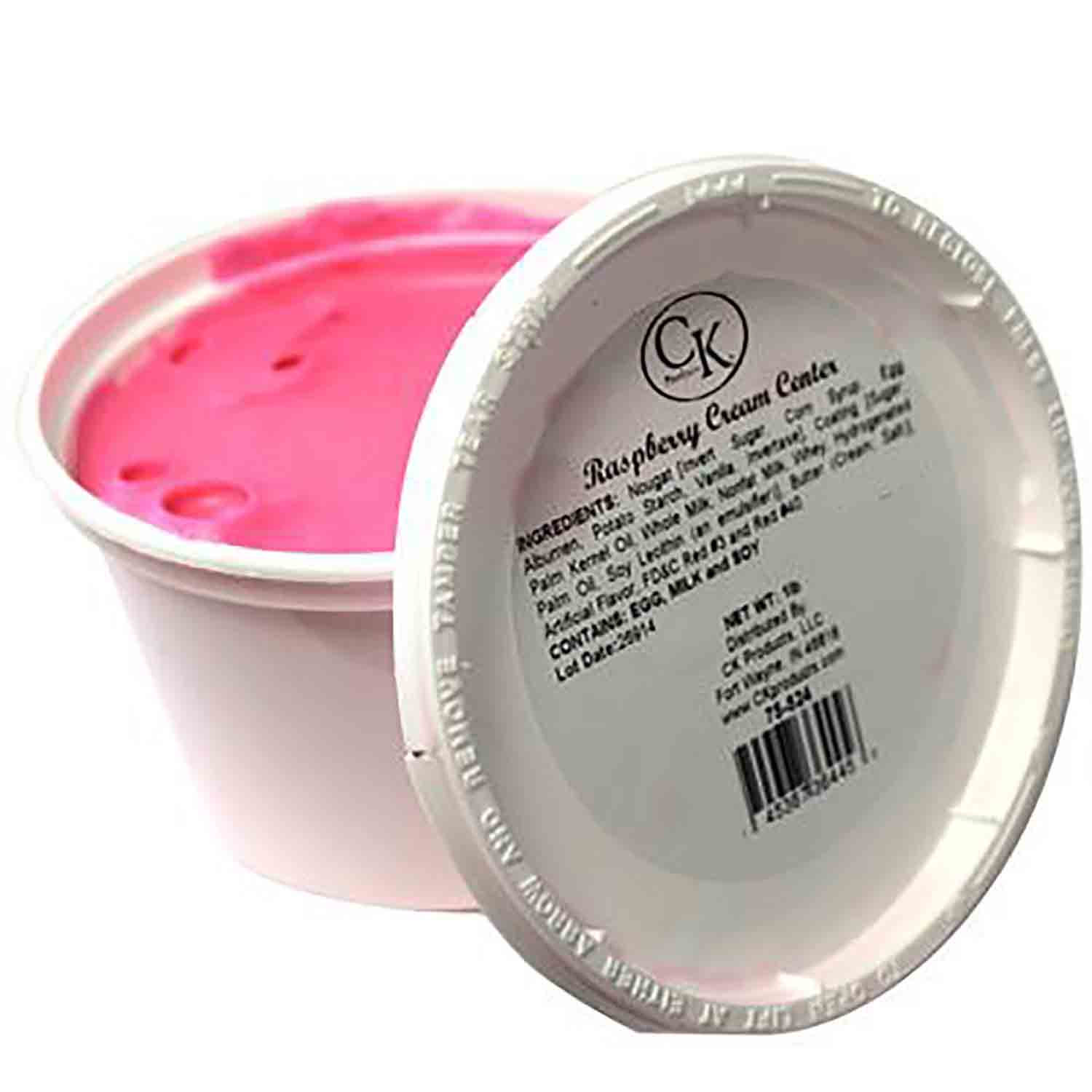 Raspberry Cream Center by CK Products/Burkes