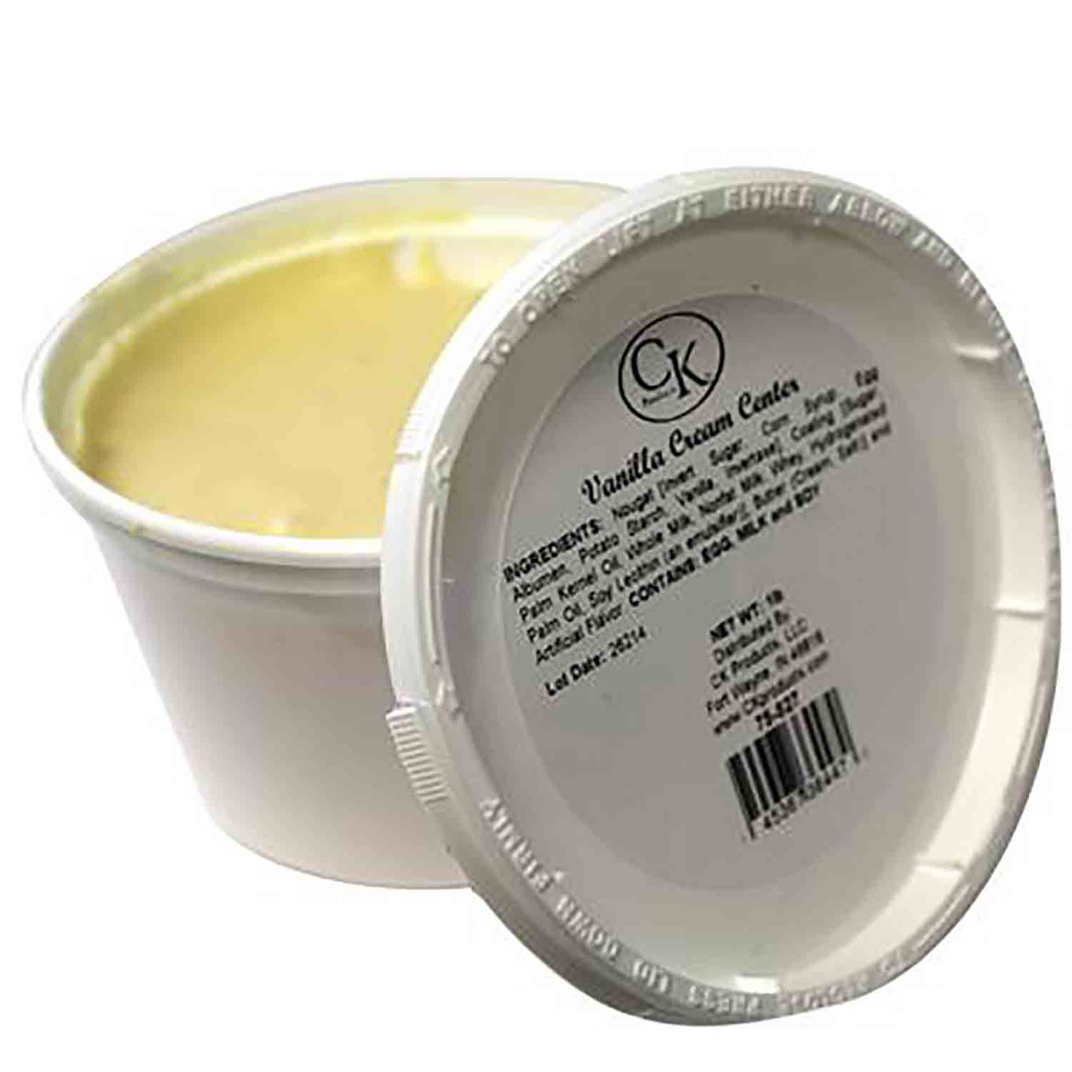 Vanilla Cream Center by CK Products/Burkes
