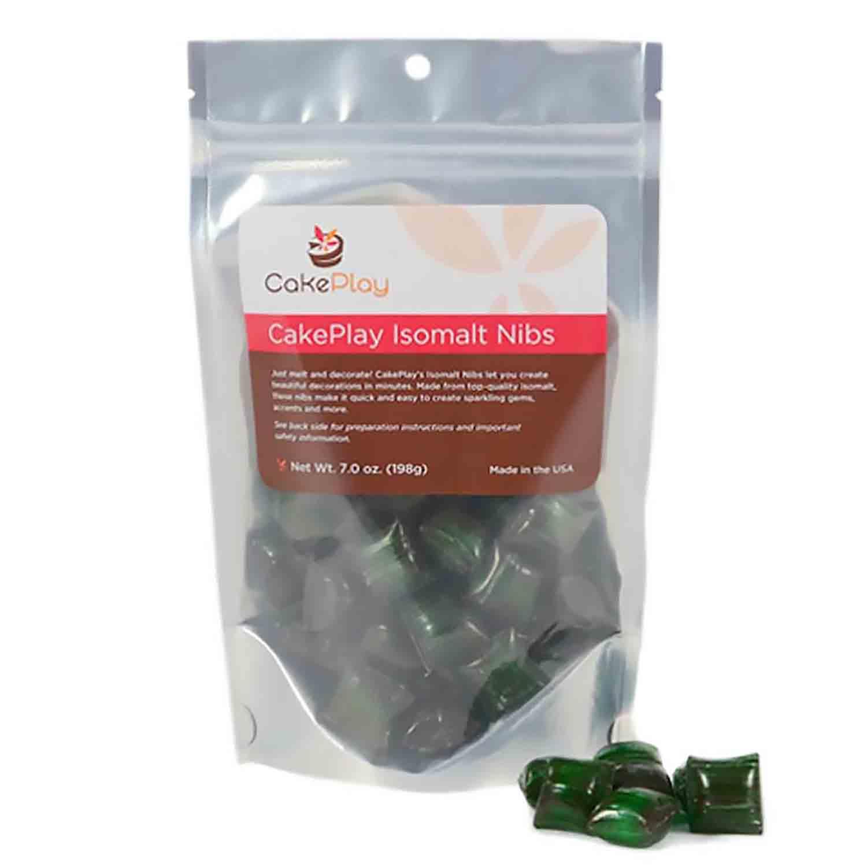 Green Isomalt Nibs