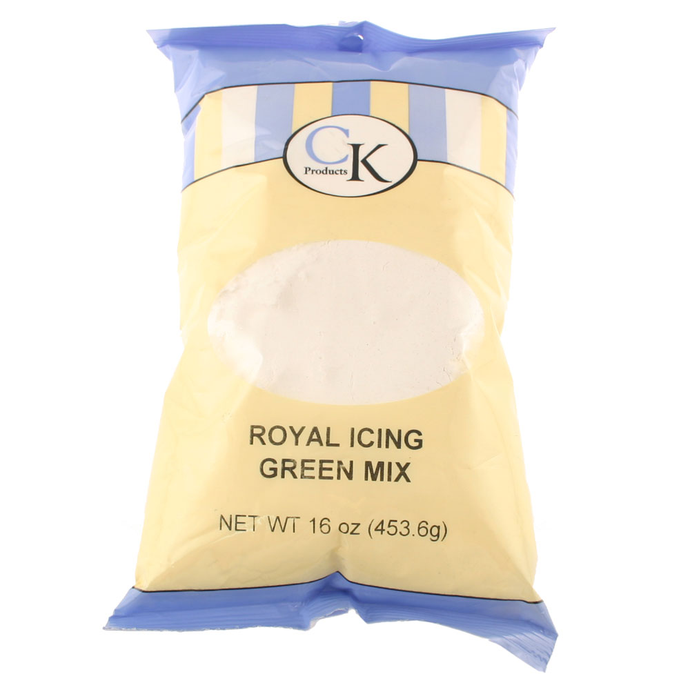 Green Royal Icing Mix