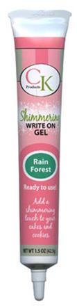 Rainforest Green Shimmer Write On Piping Gel