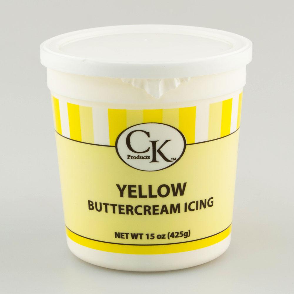 Yellow Decorating Buttercream Icing
