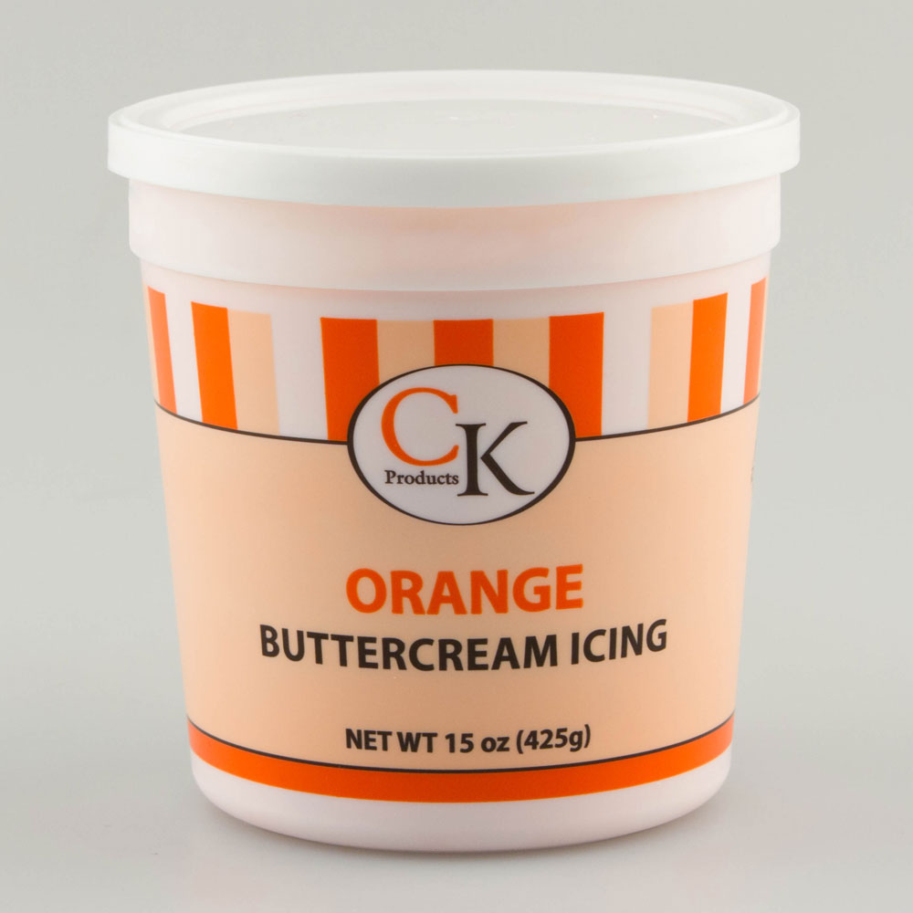 Orange Decorating Buttercream Icing