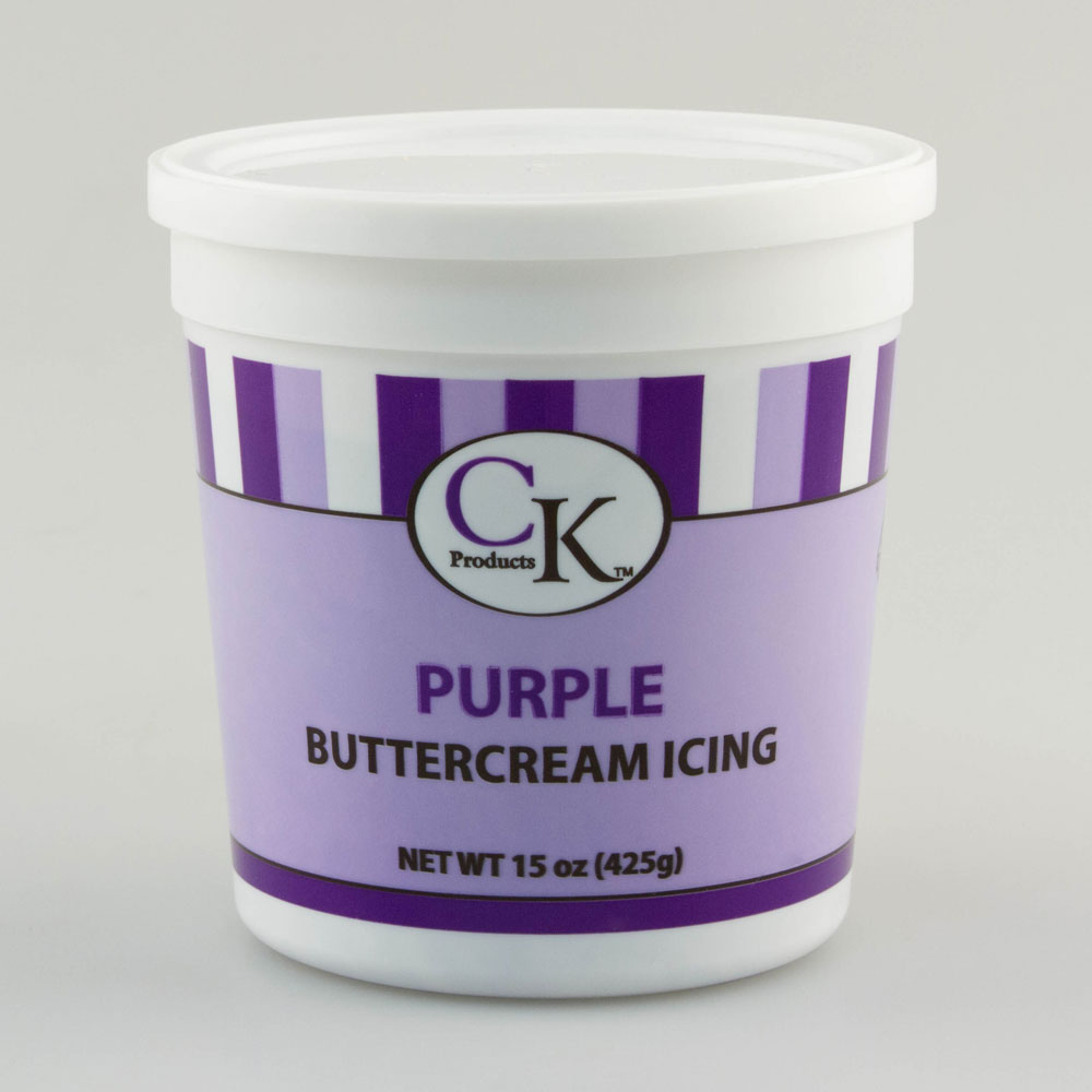 Purple Decorating Buttercream Icing