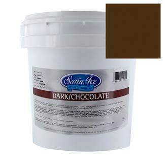 Chocolate Satin Ice Rolled Fondant Icing