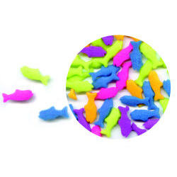 Multi Color Fish Edible Confetti Sprinkles