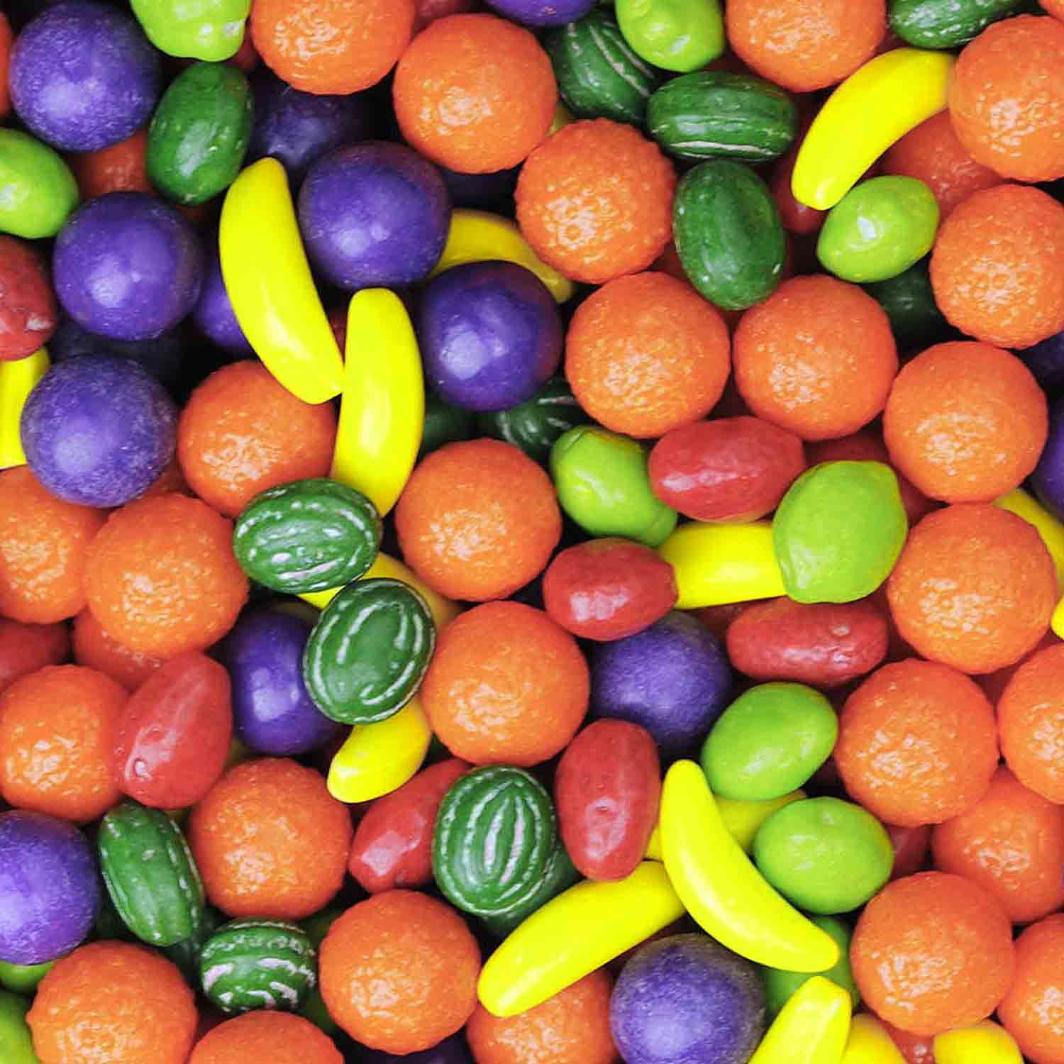 Candy Shapes- Fruits