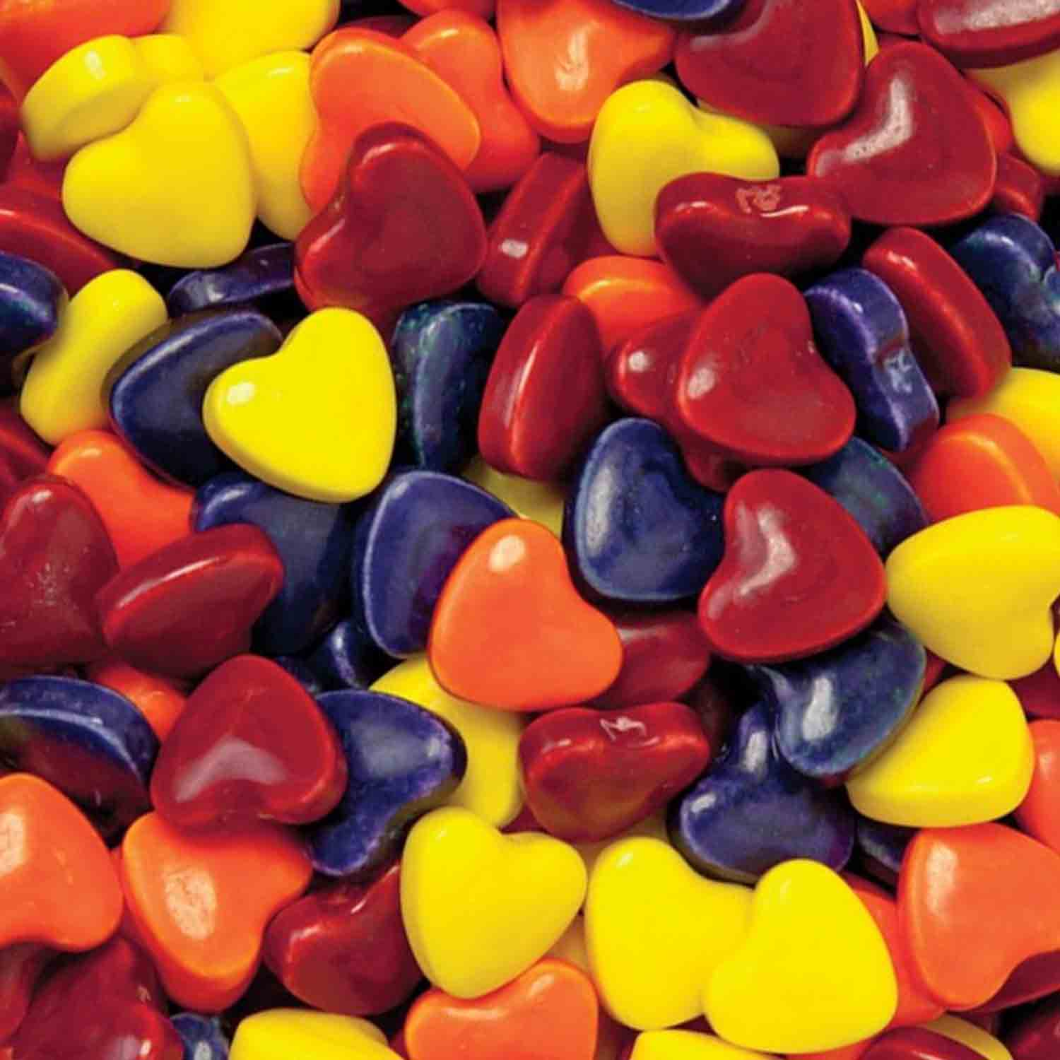 Crazy Hearts Candy Shapes
