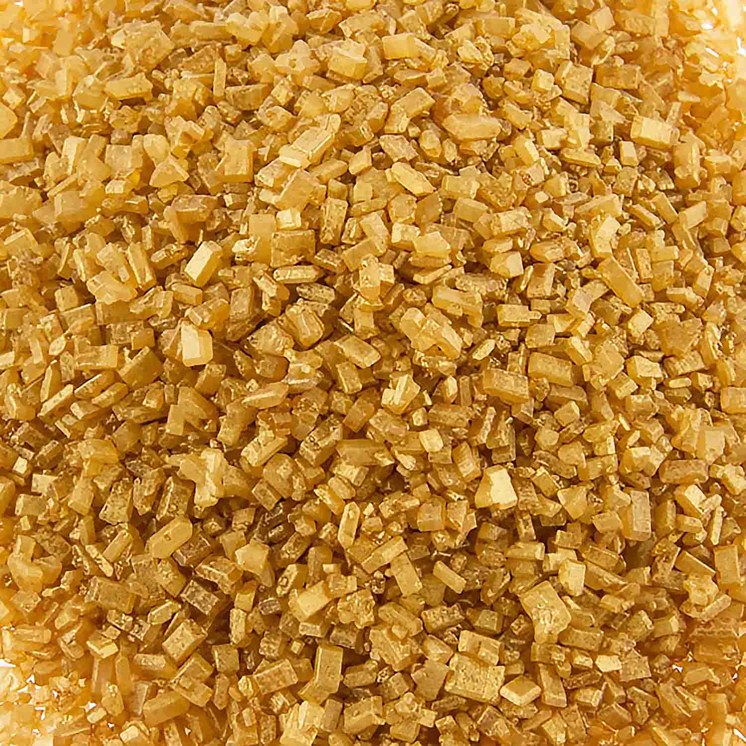 Shimmering Gold Coarse Sugar / Sugar Crystals