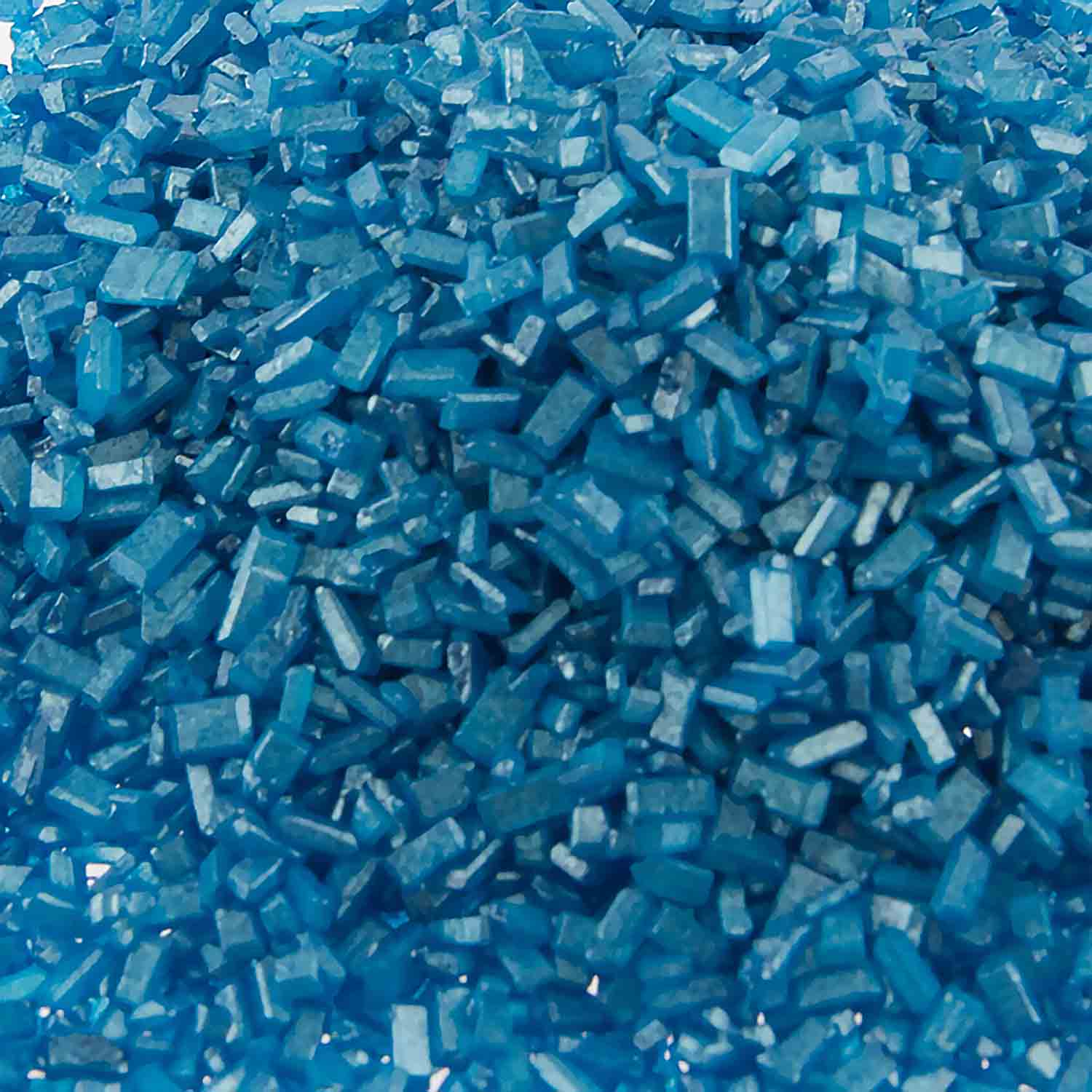 Blue Pearlized Coarse Sugar / Sugar Crystals