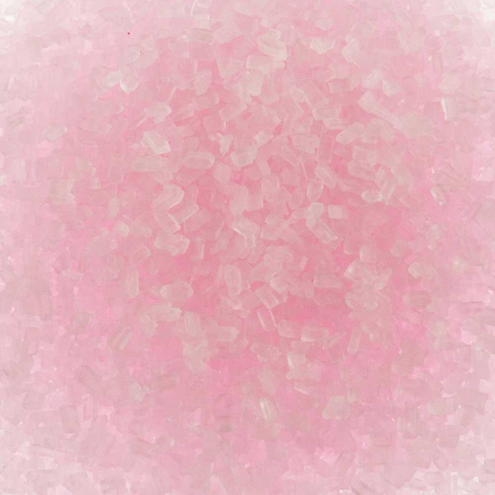 Pastel Pink Coarse Sugar / Sugar Crystals