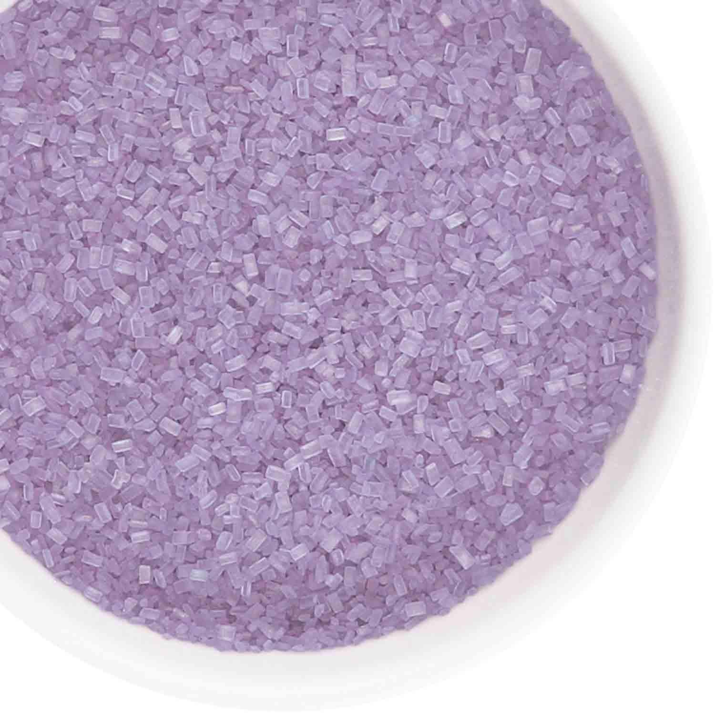 Lilac Coarse Sugar / Sugar Crystals