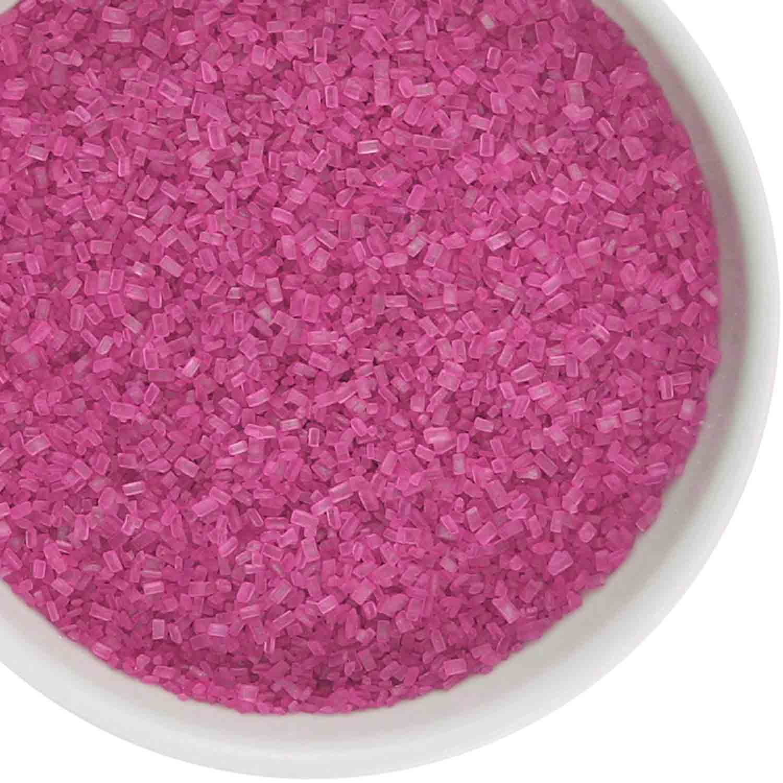 Fuchsia Coarse Sugar / Sugar Crystals