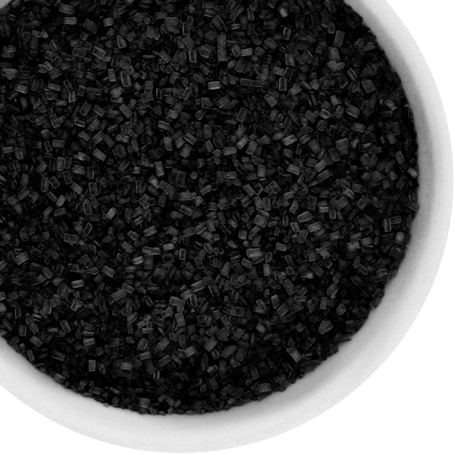 Black Coarse Sugar / Sugar Crystals