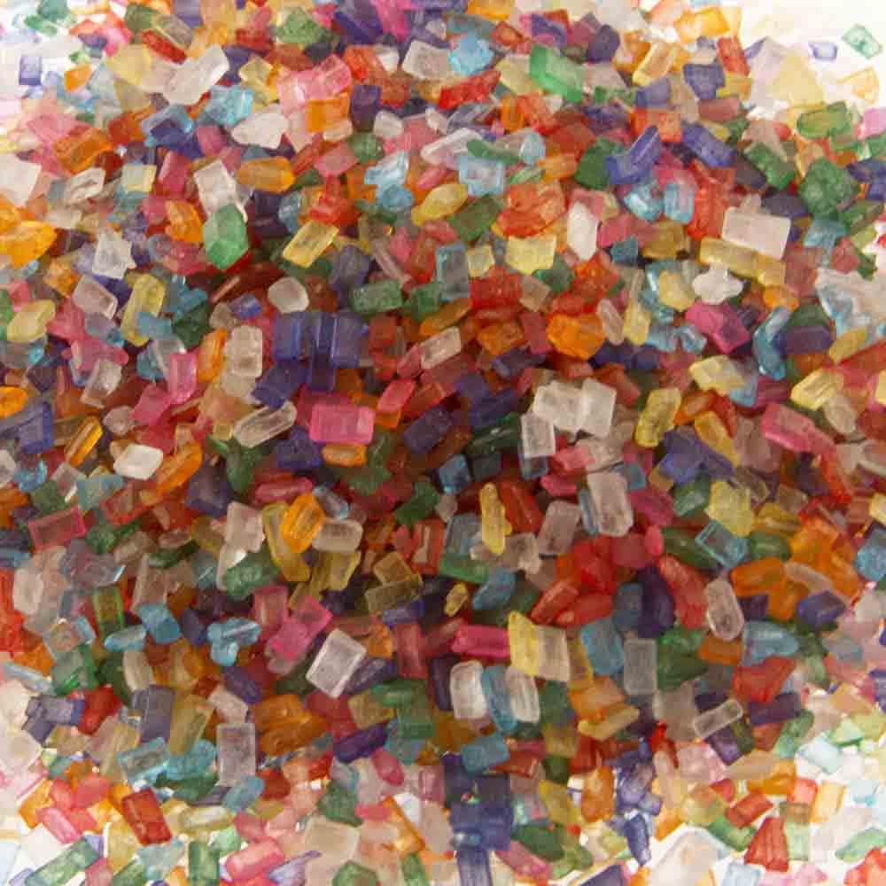 Mixed Coarse Sugar / Sugar Crystals