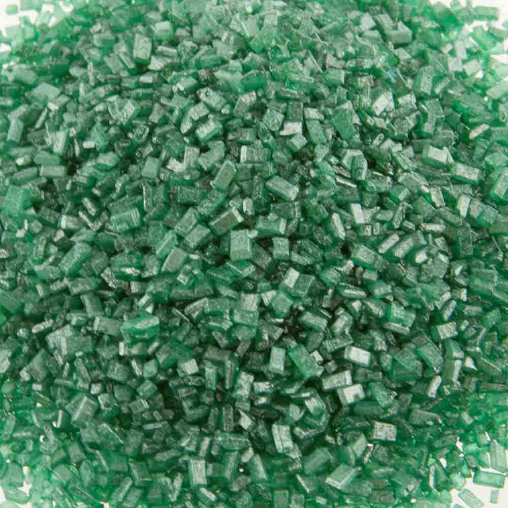 Green Pearlized Coarse Sugar / Sugar Crystals