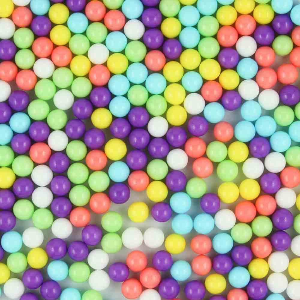 7mm Pastel Mix Sugar Pearls