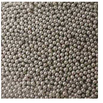 2mm Silver Dragees