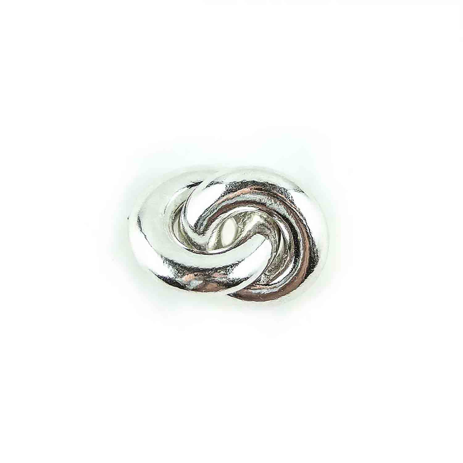 Silver Dragee Rings