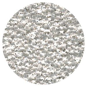 Silver Stars Edible Glitter