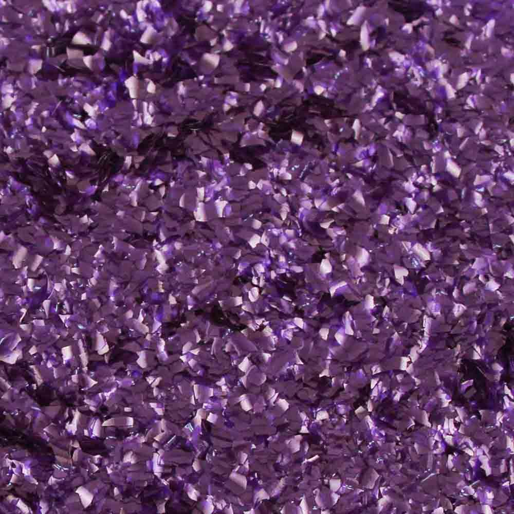 Purple Edible Glitter Flakes