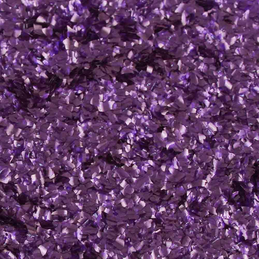 Purple Edible Glitter Flakes