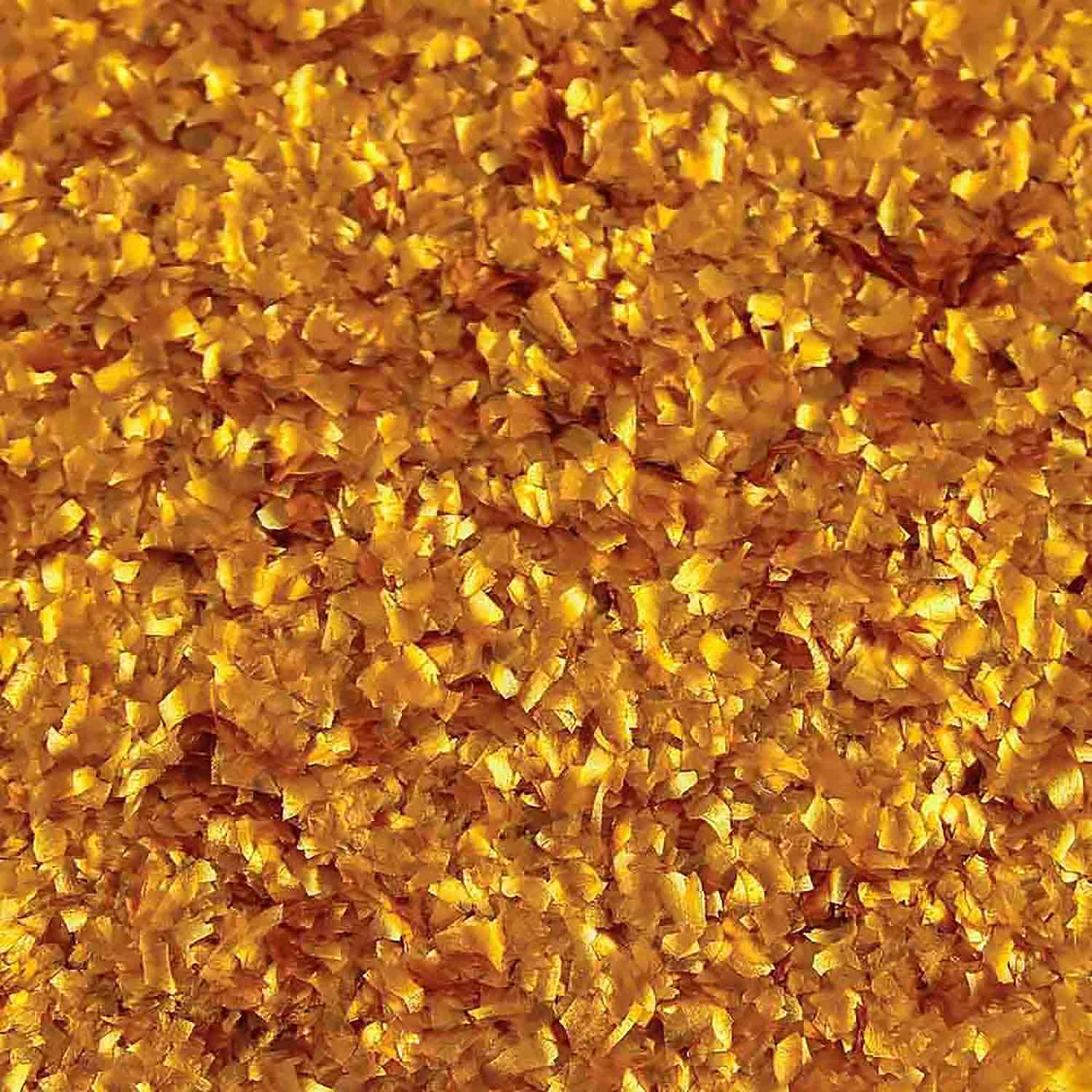 Metallic Gold Edible Glitter Flakes