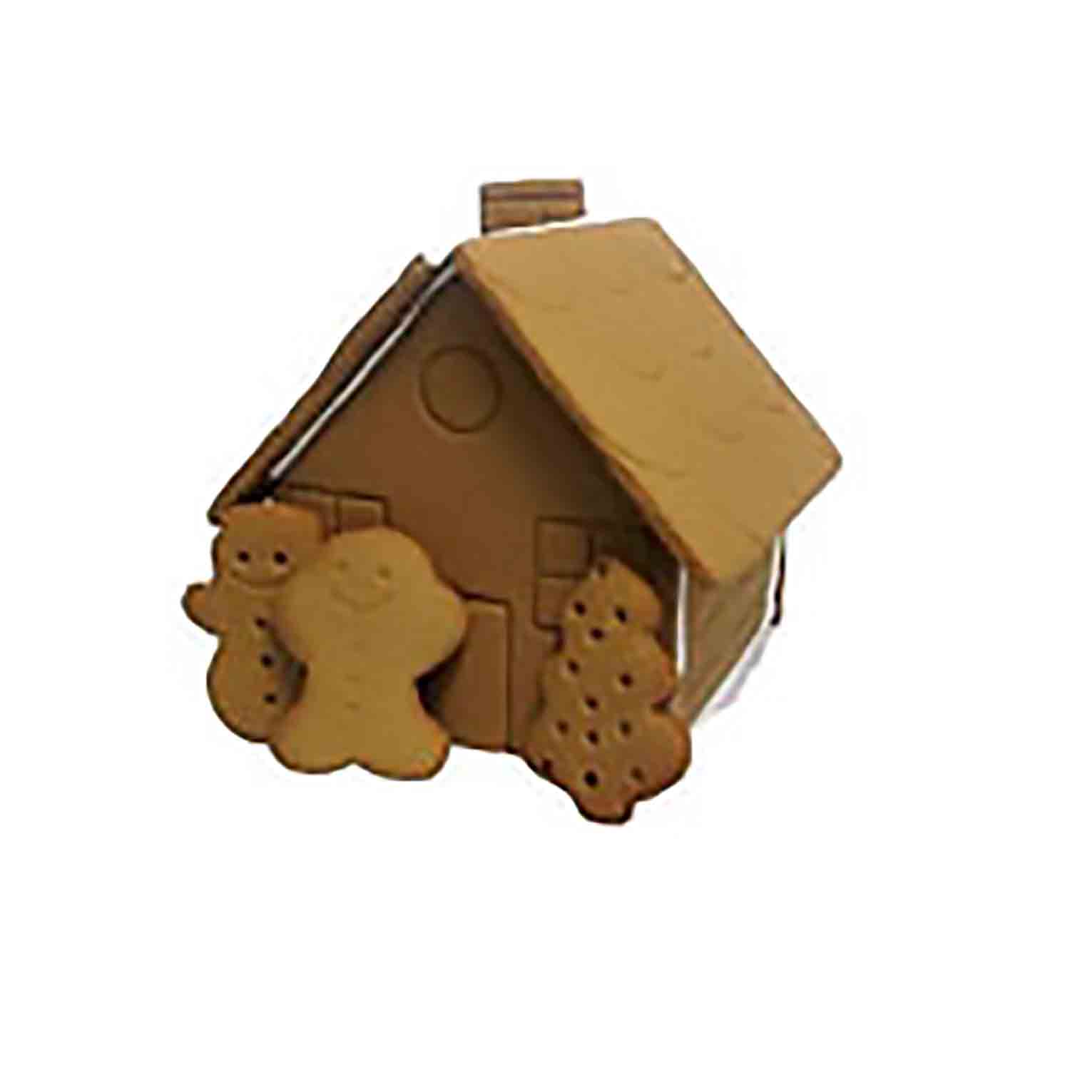 Large Premade Gingerbread House Kit