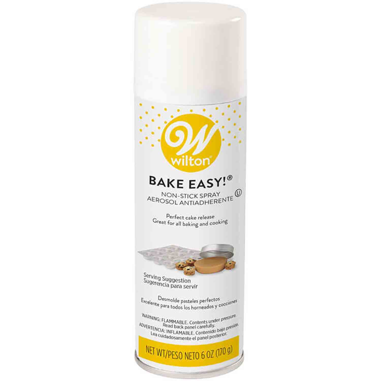 Bake Easy! Nonstick Pan Spray