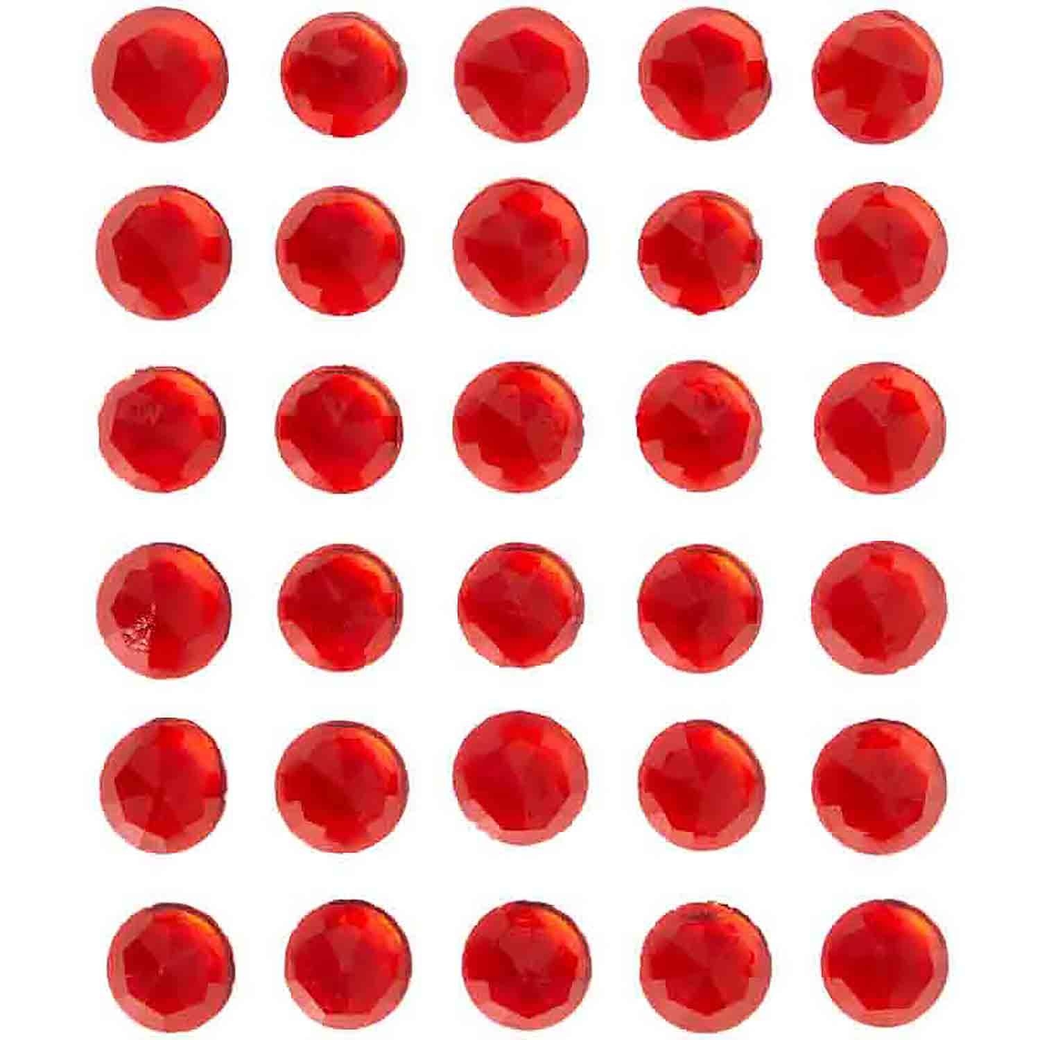 Red Sweet Isomalt Gems, 0.3 oz.