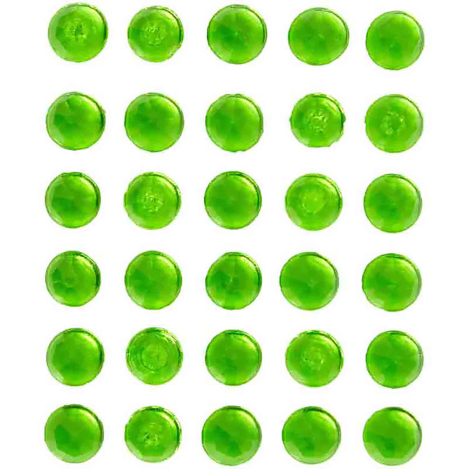 Green Sweet Isomalt Gems, 0.3 oz.