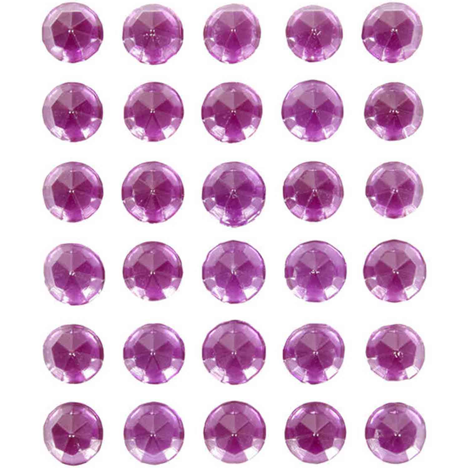 Purple Sweet Isomalt Gems