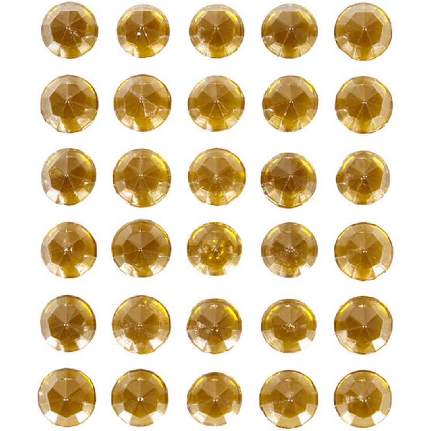 Gold Sweet Isomalt Gems