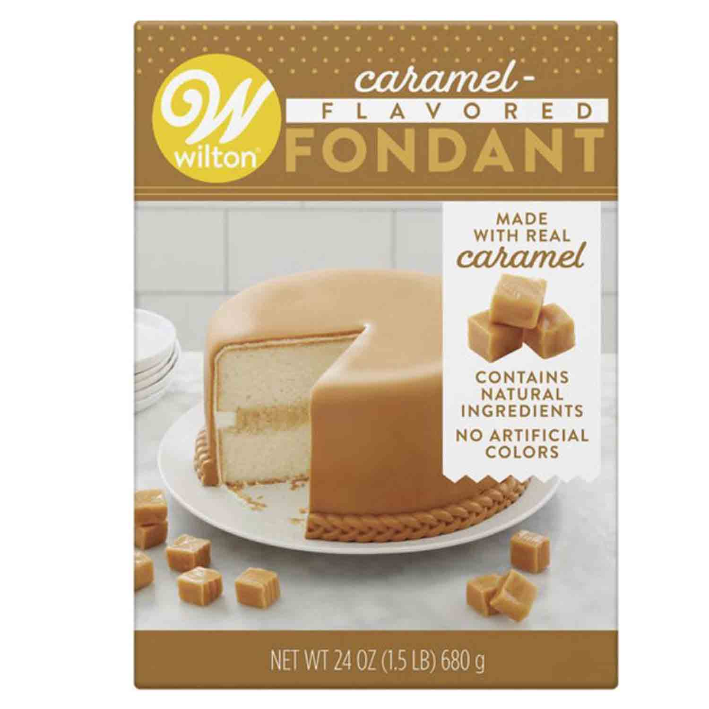 Caramel Flavored Fondant