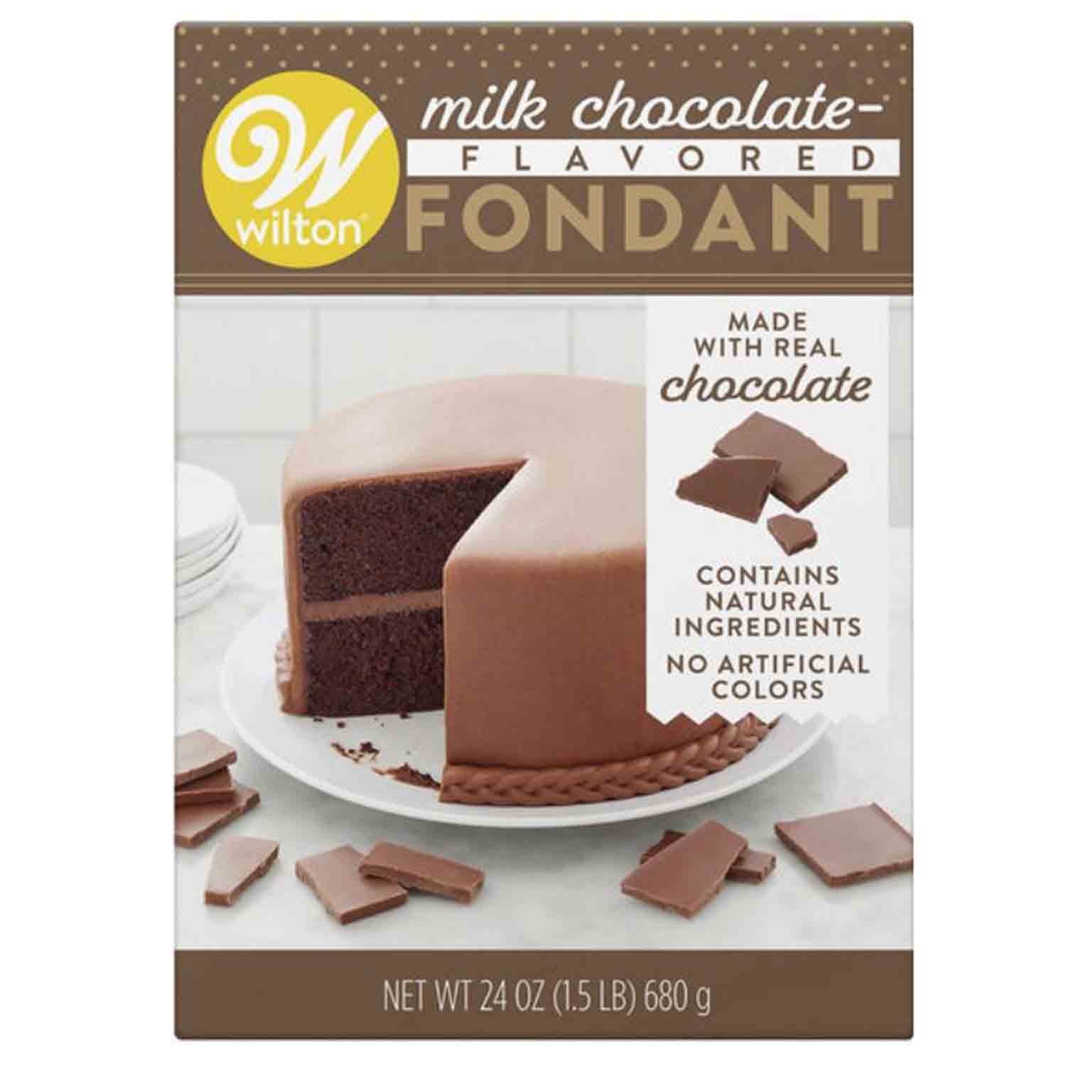 Milk Chocolate Flavored Fondant