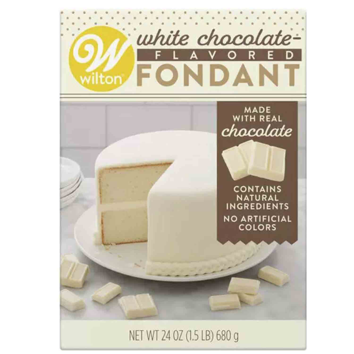 White Chocolate Flavored Fondant