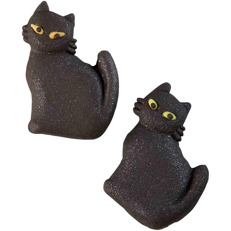 Black Cat Halloween Candy Decorations