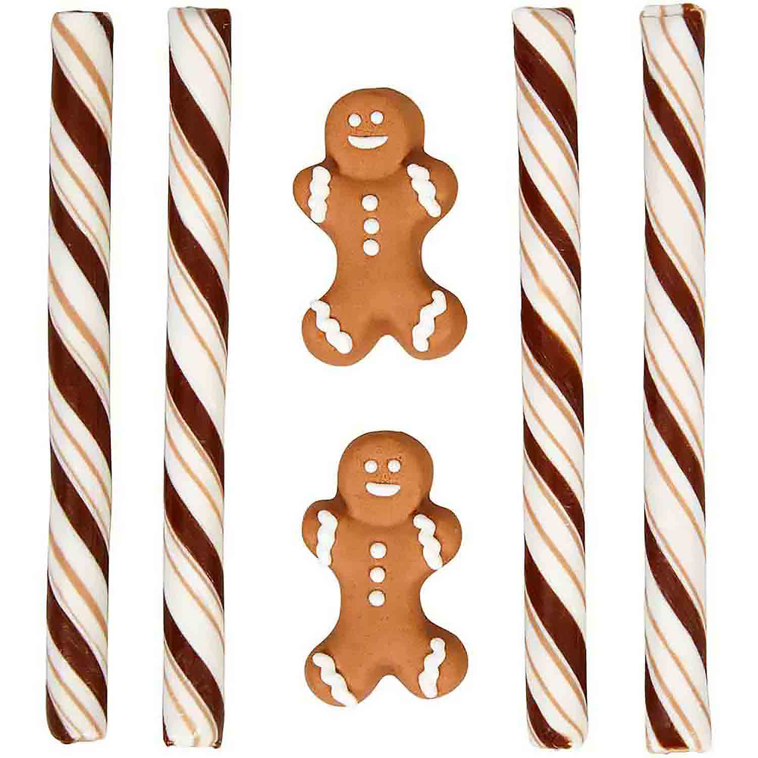 Gingerbread Boy Cocoa Trimming Kit